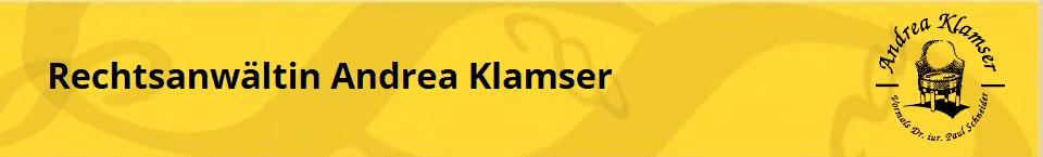 Rechtsanwältin Andrea Klamser